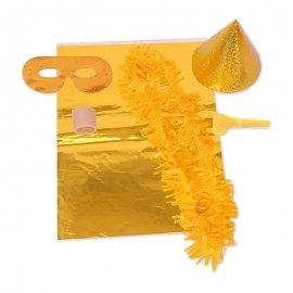 Akcesoria Sylwestrowe Złote