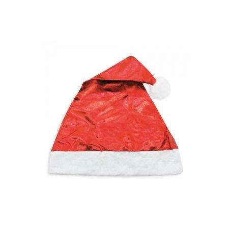 Gorro Navidad Rojo Metalizado
